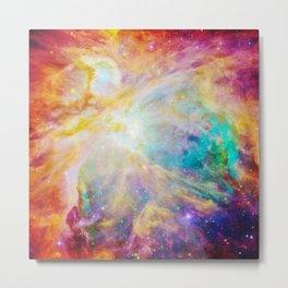 nEBula : Colorful Orion Nebula Metal Print
