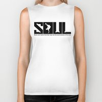 soul Biker Tanks featuring SOUL by TurkeysDesign