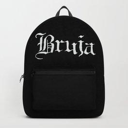 Bruja (White Text) Backpack