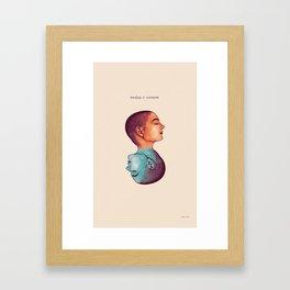 Sinead O' Conner Framed Art Print
