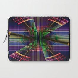 Plaid Movement 001 - Geometric - Unique Plaid - Colorful Plaid - Corbin Henry Laptop Sleeve