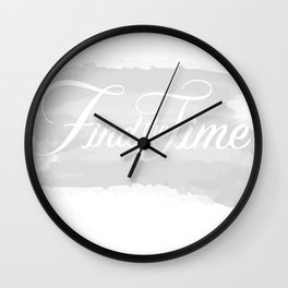 Find the Time Wall Clock