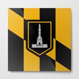 flag of Baltimore Metal Print