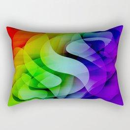 Colour gradient 6 Rectangular Pillow