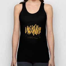 French Fries #glamfood Unisex Tank Top
