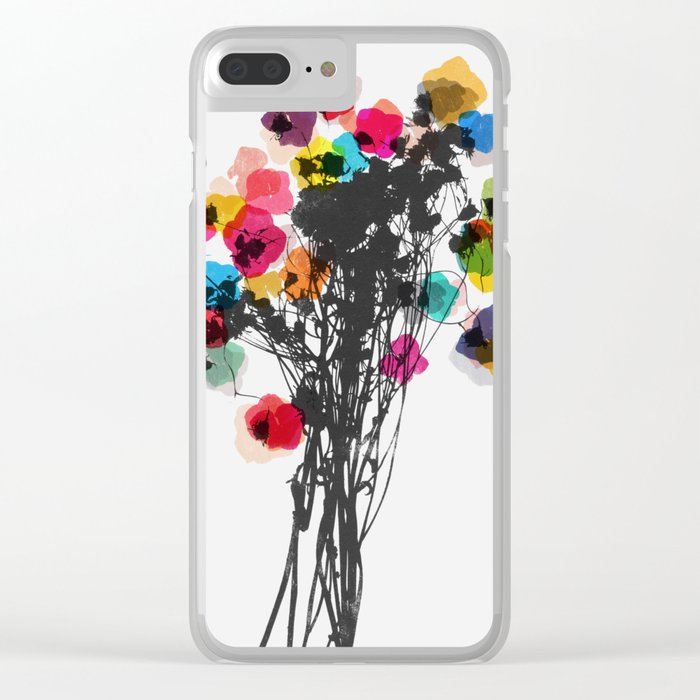 blossom 1 Clear iPhone Case