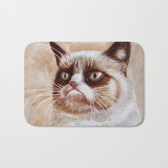 Grumpycat Bath Mat