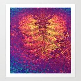 Arboreal Vessels - Heart Breath Art Print