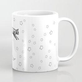 Cat Jumping Over The Moon Coffee Mug