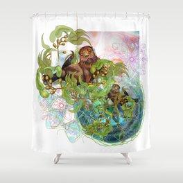 Kelp Forest Shower Curtain