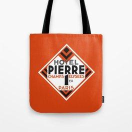 Hotel Pierre Paris Art Deco Tote Bag
