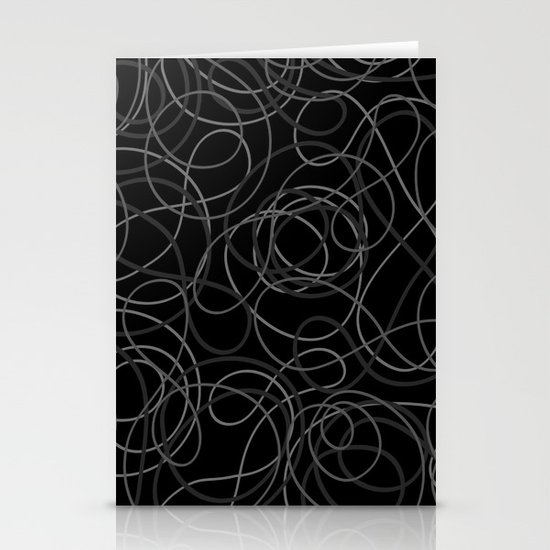 Time is elastic Stationery Cards