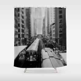 """the """"L"""" ... Shower Curtain"""