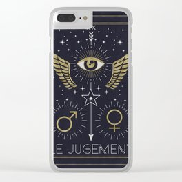 Le Jugement or The Judgement Tarot Clear iPhone Case