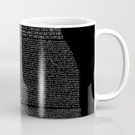Pierre de Rosette  / Rosetta Stone Coffee Mug