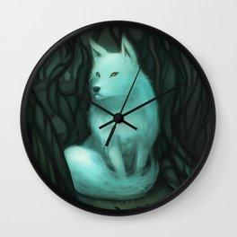 Big Good Wolf Wall Clock