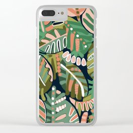 It's a jungle out there Clear iPhone Case