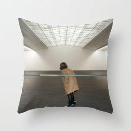The End of an Era Throw Pillow
