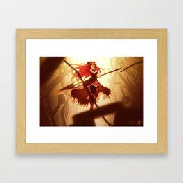 Madoka Magica: Kyoko Framed Art Print