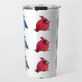 L'il Lard Butts - all the fat birds Travel Mug
