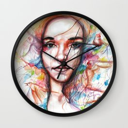The desire to fly Wall Clock