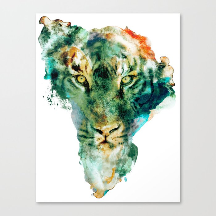 African Wildlife Canvas Print