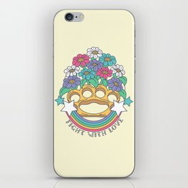 Fight with Love iPhone Skin
