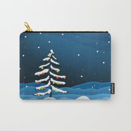 Holiday Christmas Christmas Tree Carry-All Pouch