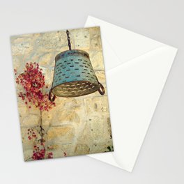 wall art in alacati Stationery Cards