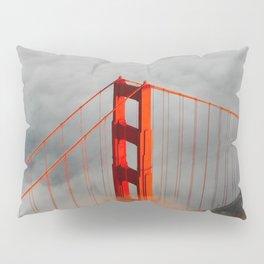 Golden Gate Bridge, San Francisco on Foggy Morning Pillow Sham