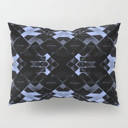 Futuristic Geometric Design Pillow Sham