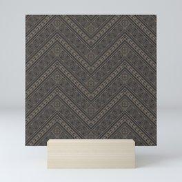 Tipi's (Gray) Mini Art Print