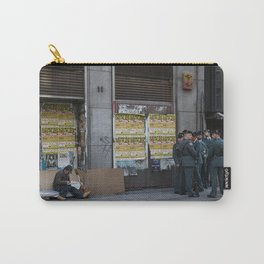 Streets of Madrid Carry-All Pouch
