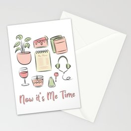 Now it's Me Time! Stationery Cards