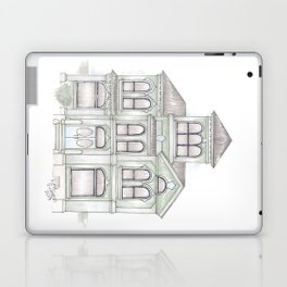 Green Italianate Victorian Laptop & iPad Skin