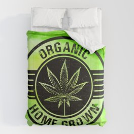 Home Grower Organic on Watercolour Comforters