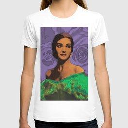 Maria Callas Stenciled II T-shirt