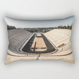Panoramic View of the Panathenaic Stadium Rectangular Pillow