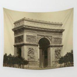 Arc de L'Etoile 1870 Wall Tapestry