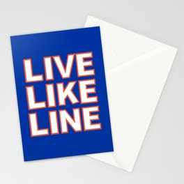 LIVE LIKE LINE Volleyball Stationery Cards