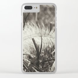 Little feather Clear iPhone Case
