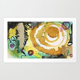 Vision Card Art Print