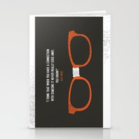 """alex vause Stationery Cards featuring """"when you have a connection with someone it never goes away"""" Alex Vause OITNB by :: Fan art ::"""
