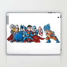 4 aginst one Laptop & iPad Skin