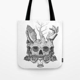 Faith in Death Tote Bag