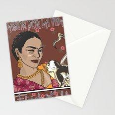 Frida- Pasión por La Vida Stationery Cards