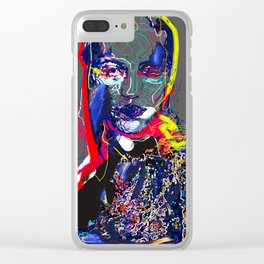 Portrait of an Alien Clear iPhone Case