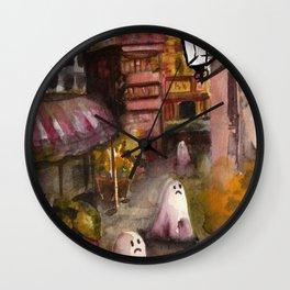 road ghost Wall Clock