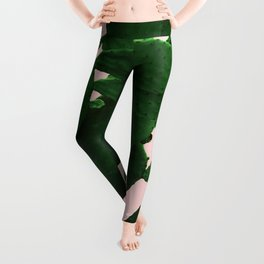 Cactus On Pink Leggings