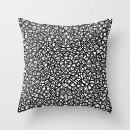 staklo (grays) Throw Pillow